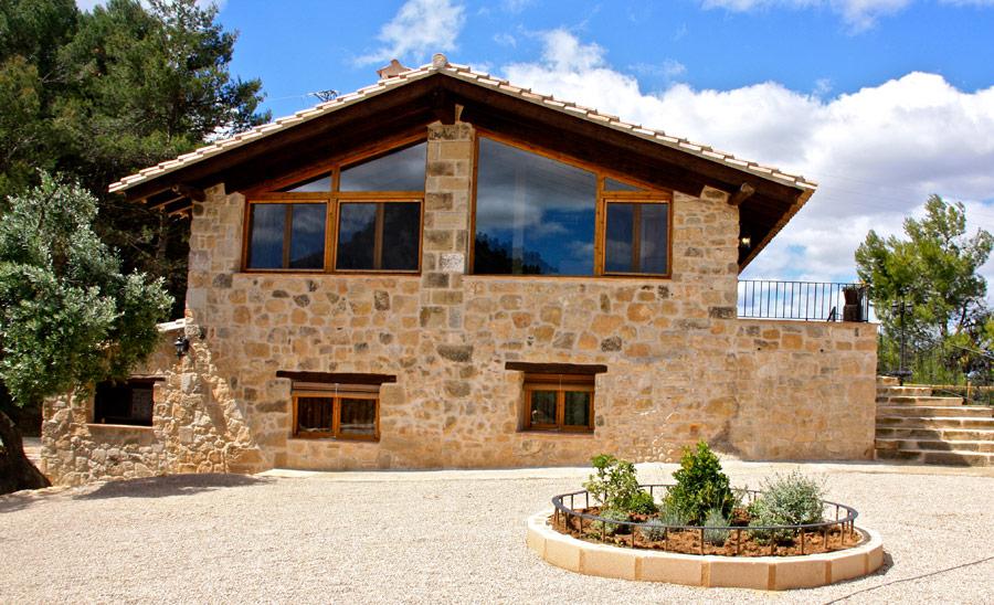 Exteriores de casas rusticas entrada with exteriores de - Fachadas rusticas de piedra ...
